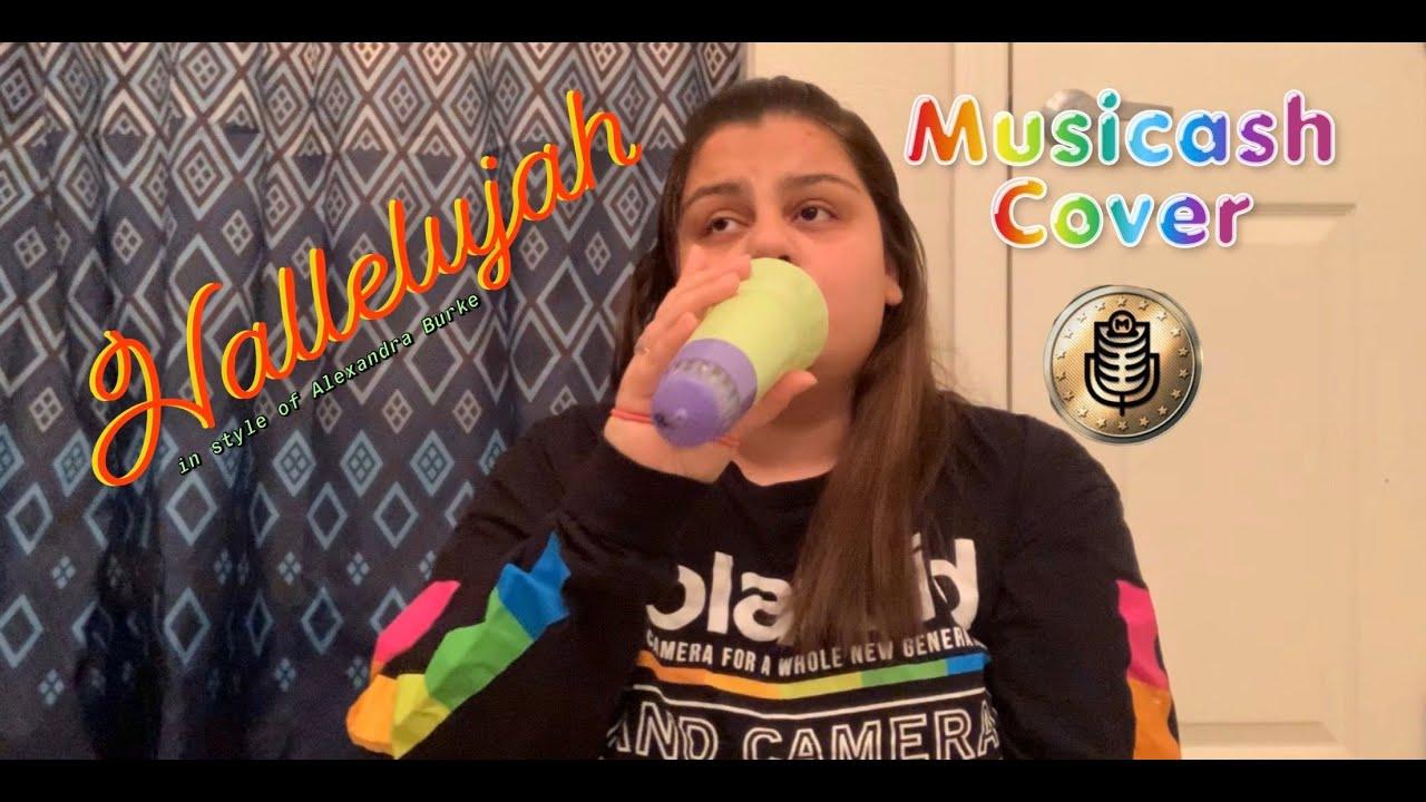 Hallelujah In Style of Alexandra Burke (Musicash Audition Video)