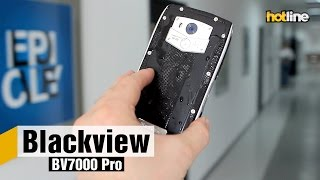 Blackview BV7000 Pro — обзор защищенного смартфона