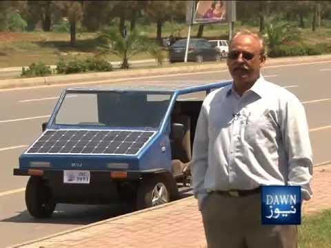 Dawn News - ECONOMIA Solar Cars