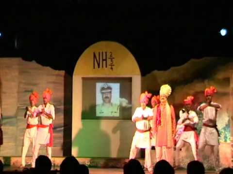 MAST MAHARASHTRA MAZA...!! Maharashtra Geet From Musical Show By Tyagraj Khadilkar.