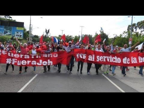 Honduras: manifestaciones, represión y estado de sitio tras las elecciones.