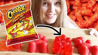 I Turned Flaming Hot Cheetos Into A Giant Gummy Bear