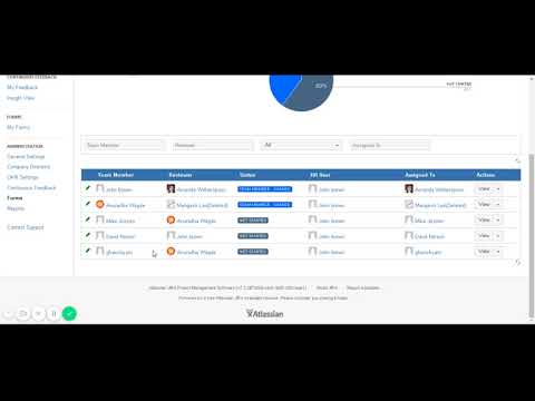 View status ofan individual form - UpRaise for Employee Success