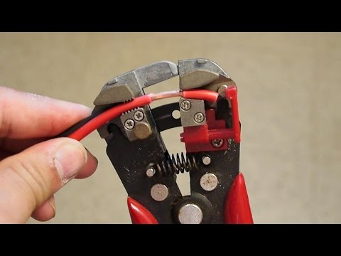 best type of WIRE STRIPPER - heavy duty self adjusting