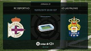 RC Deportivo - UD Las Palmas MD29 D2000