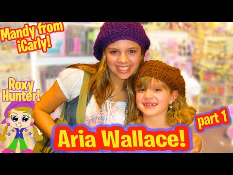 ARIA WALLACE  PART 1 MANDY from iCARLY and ROXY HUNTER with PIPER REESE! PipersPicks 027