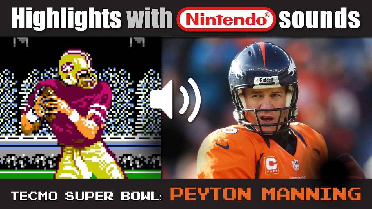Sb50 with tecmo super bowl sounds youtube voltagebd Choice Image