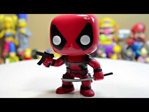 Funko Pop! Deadpool Bobblehead Review