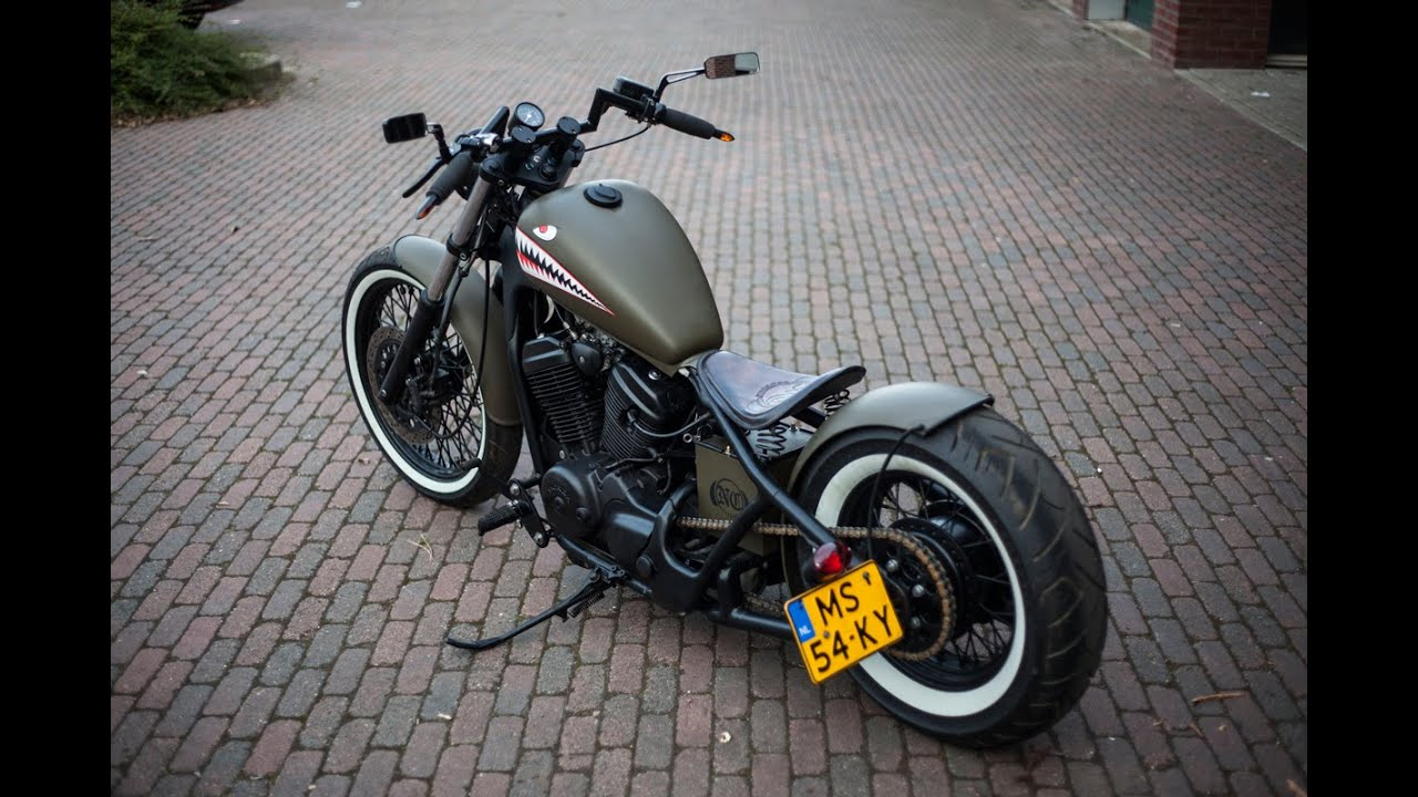 honda shadow bobber build vlx 600 doovi. Black Bedroom Furniture Sets. Home Design Ideas