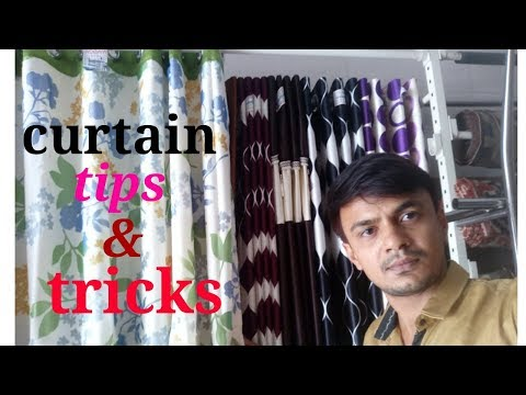 (Hindi) Curtain Tips And Tricks
