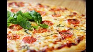 ПИЦЦА!!! По рецепту итальянских шеф-поваров / Тончайшее нежное тесто / Время приготовления 25 минут