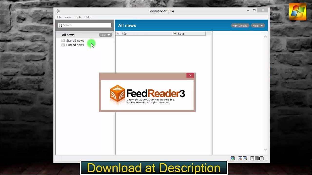 feedreader 3.14