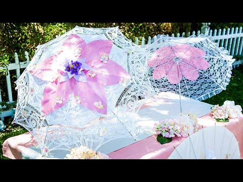 DIY Floral Parasols - Home & Family