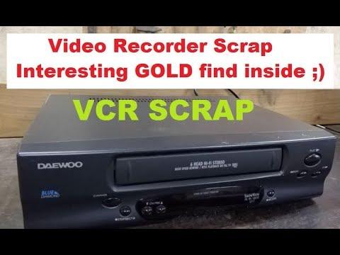 Video Recorder Scrap - Interesting GOLD Find!