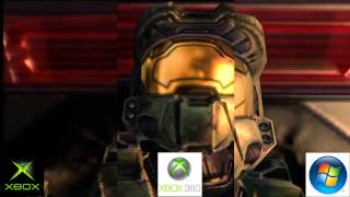 Halo 2 - Xbox/Xbox 360/PC Comparison [HD]
