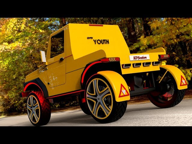 Maruti Gypsy Modified by KDfication |Gypsy Young | KD -1| KDfication