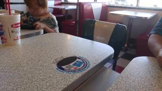 Spangles restaurant Salina Kansas 1950's decor