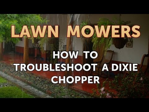 How to Troubleshoot a Dixie Chopper
