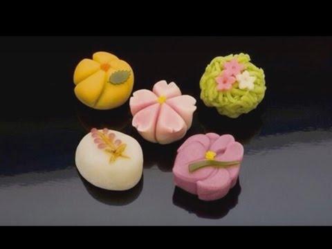 Wagashi - Traditional Japanese Confectionery (English subtitles)