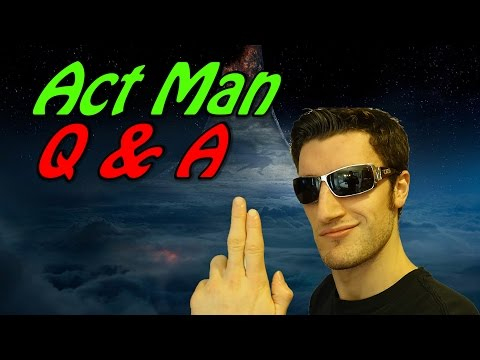 Answering Your AWESOME Questions (Part 2)   Act Man Q & A