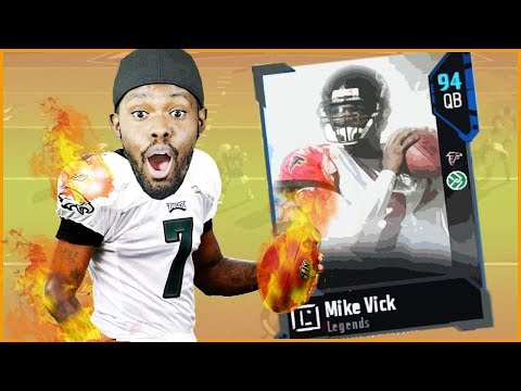 94 OVR LEGEND MIKE VICK FORCING RAGE QUITS!! - Madden 18 MUT XB1 Gameplay