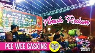 Download lagu Pee Wee Gaskins - Amuk Redam live Acoustic @ Karawang Indie Clothing 2019 MP3
