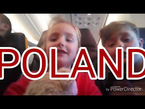 MY FIRST VLOG ,GOING TO POLAND