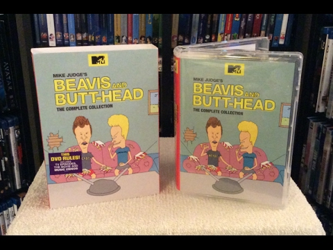 Beavis and Butt-Head: Complete Collection DVD UNBOXING and Review