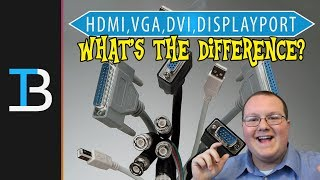 What Is The Difference Between HDMI, DisplayPort, VGA, and DVI?