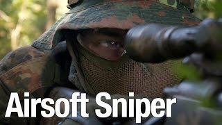 Airsoft Sniper Gameplay - Scope Cam - ASCW Endgame FFA
