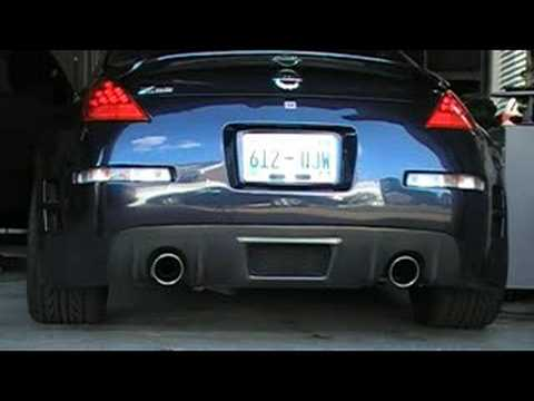 2007 350z stock exhaust youtube. Black Bedroom Furniture Sets. Home Design Ideas