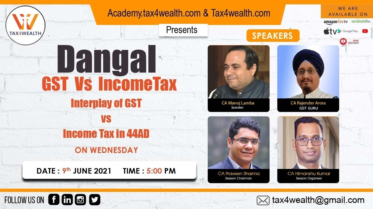 Watch Our Live Show on Wednesday on