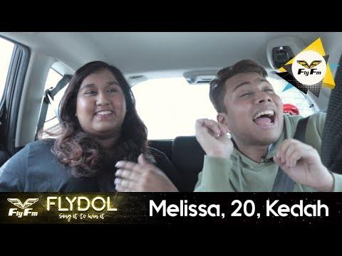 Flydol | Carpool karaoke with MELISSA