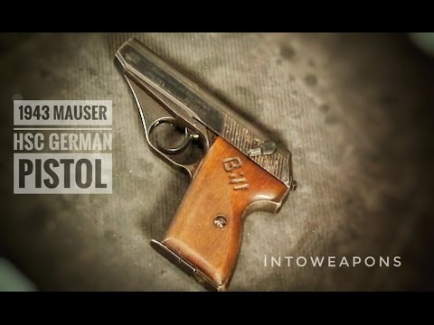 Mauser HSc - Shooting - Disassembly - Overview