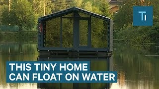 This Tiny Cabin Is Instantly Ready On Land Or Water