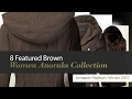8 Featured Brown Women Anoraks Collection Amazon Fashion, Winter 2017