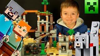 LEGO MINECRAFT 21121 + Мультики. Обзор Лего Майнкрафт на русском языке. Кока Туб