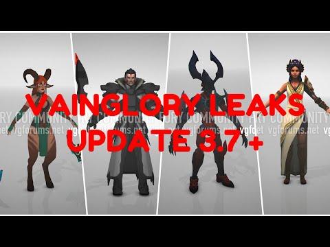 VAINGLORY LEAKS UPDATE 3.7+ | FlameEater
