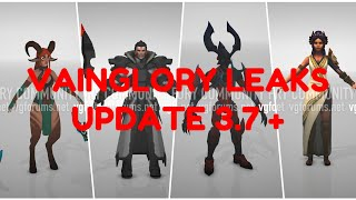 VAINGLORY LEAKS UPDATE 3.7+ | NEW HERO AND SKIN | flameEater