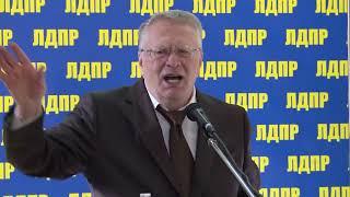 В.Жириновский на открытии выставки. Часть 2
