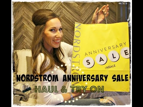 Nordstrom Anniversary Sale Haul + Try On