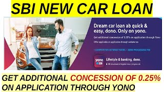 SBI NEW CAR LOAN | CAR LOAN DETAILS