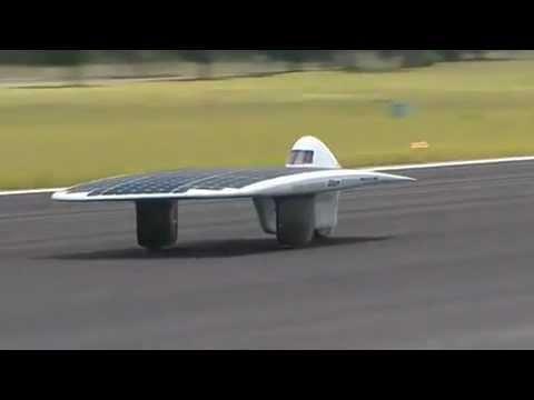 World's Fastest Solar-Powered Vehicle