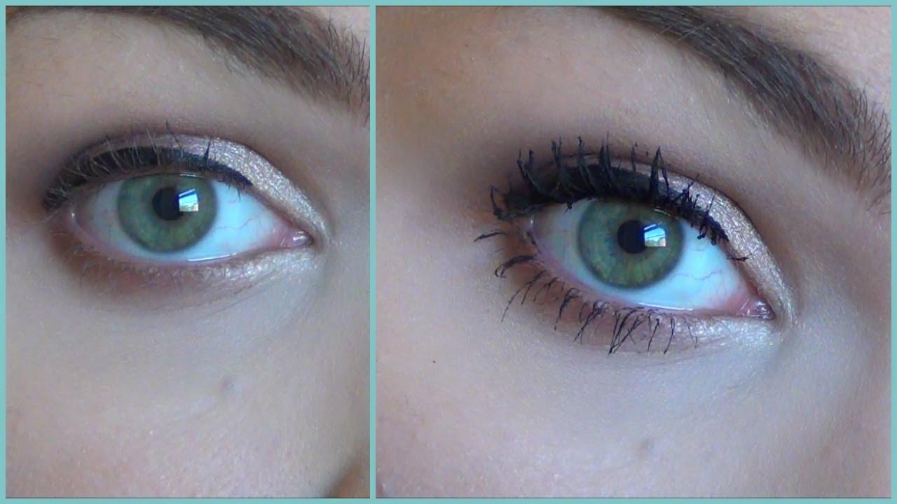How To Make Short Eyelashes Long Thick With Mascara Youtube