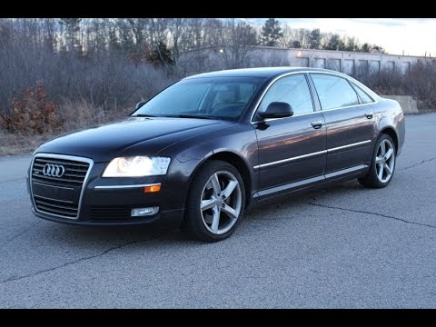 2009 Audi A8L. Magnificent. Loaded. NAV. Heated/Cooled/Massaging Seats. Sirius XM. Bose.
