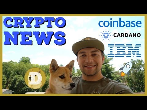 Coinbase Adding 5 New Coins + Securities | IBM FDIC Insured Crypto | Mastercard Wins Crypto Patent