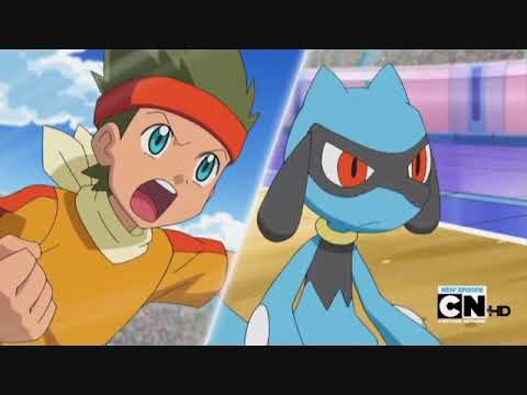Pokemon Best Wishes - Verstress Conference - Cameron vs Bianca part 2