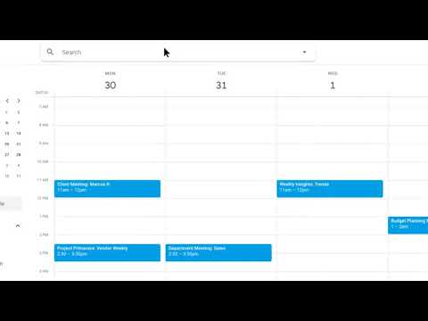 How to: Search for an event in Calendar
