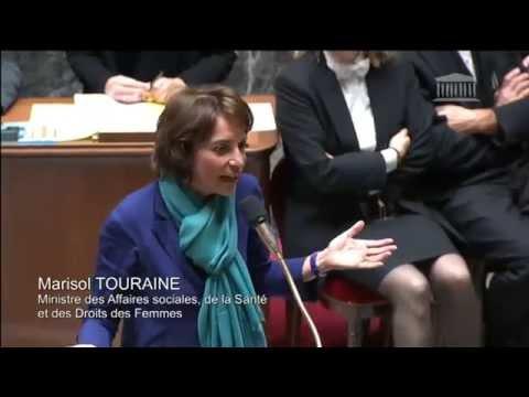 Echange Vif entre Valérie Boyer et Marisol Touraine sur le budget de l'AME