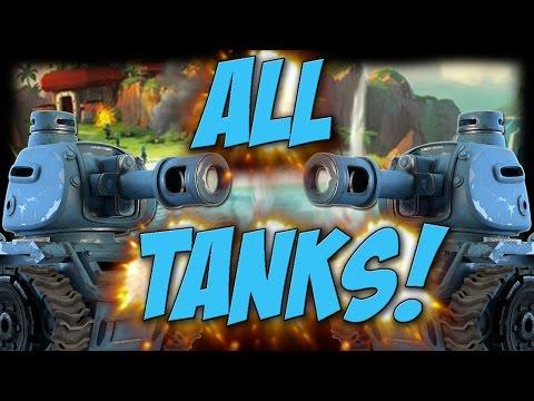 All Tank Attacks | Tanks FTW! | Boom Beach